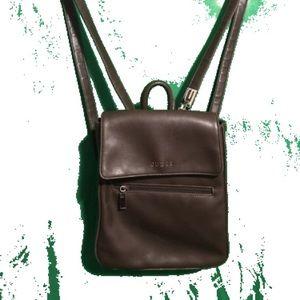 Vintage Brown Guess Backpack